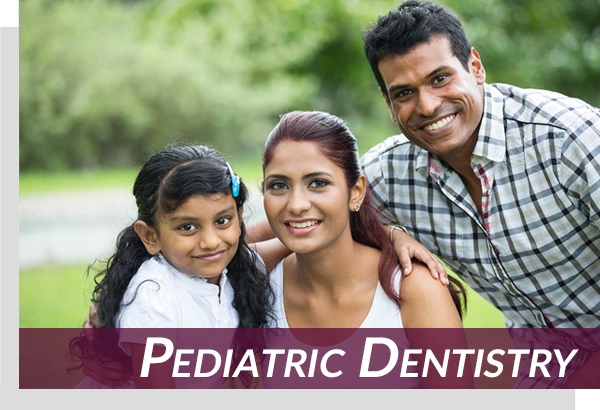 pediatric dentistry patient with family